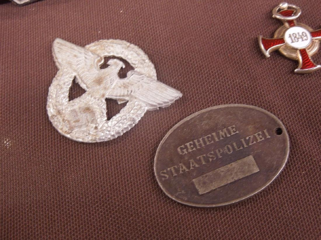 German WW II Patch, Medal & Other - 2
