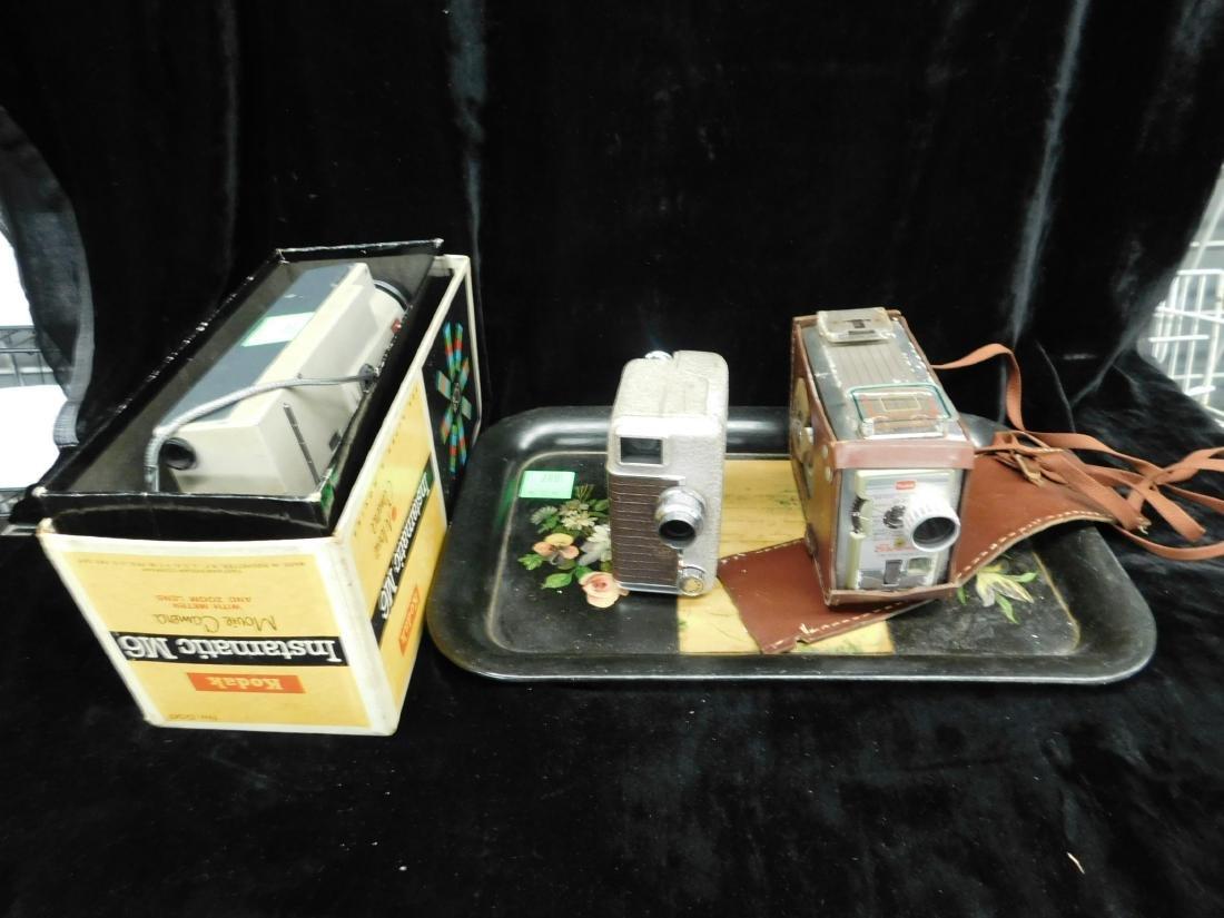 3 Vintage Movie Cameras