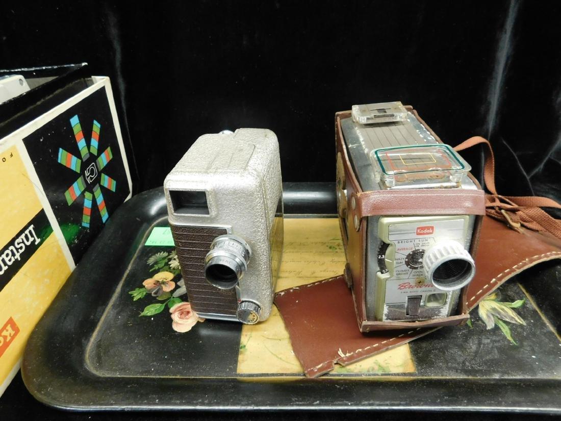 3 Vintage Movie Cameras - 2