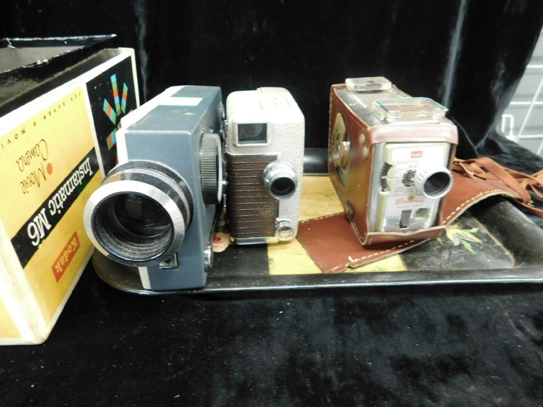 3 Vintage Movie Cameras - 4