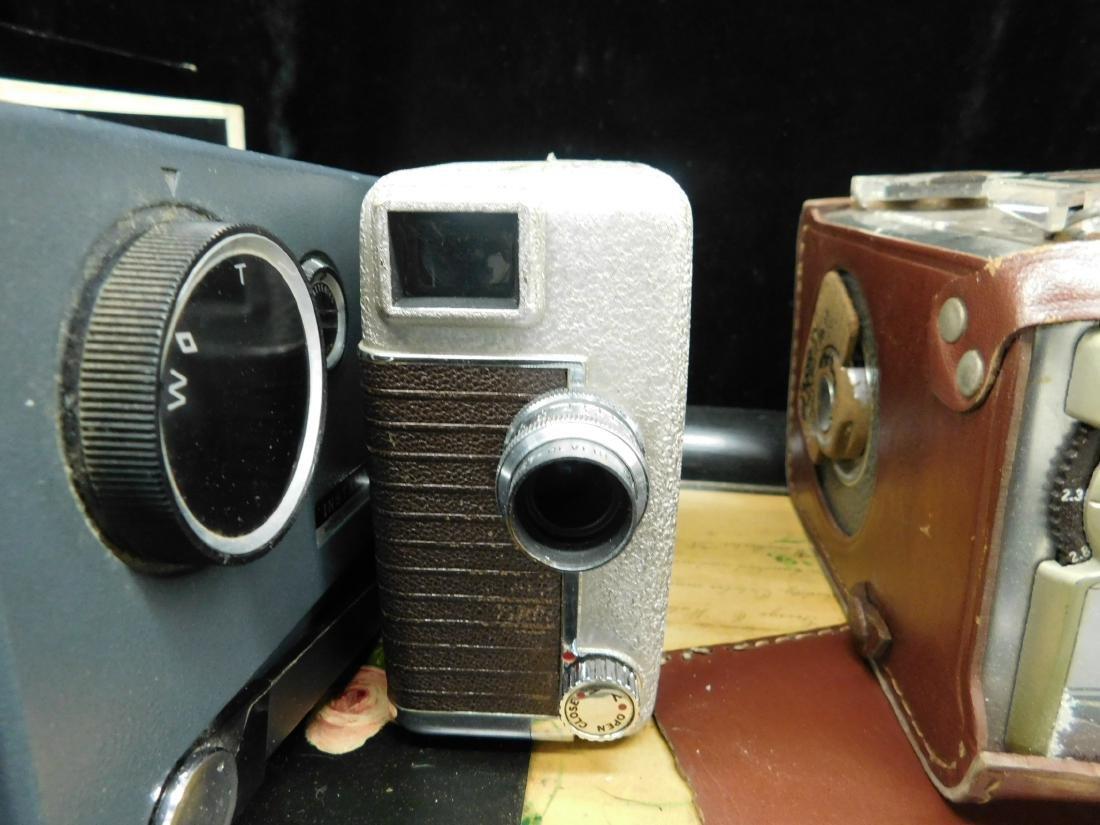 3 Vintage Movie Cameras - 6