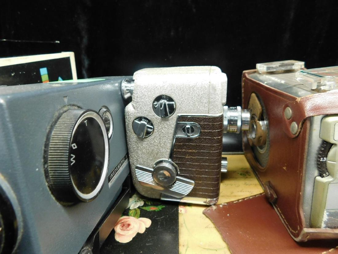 3 Vintage Movie Cameras - 7