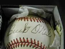 Autographed Baseball, Buck O'Neil