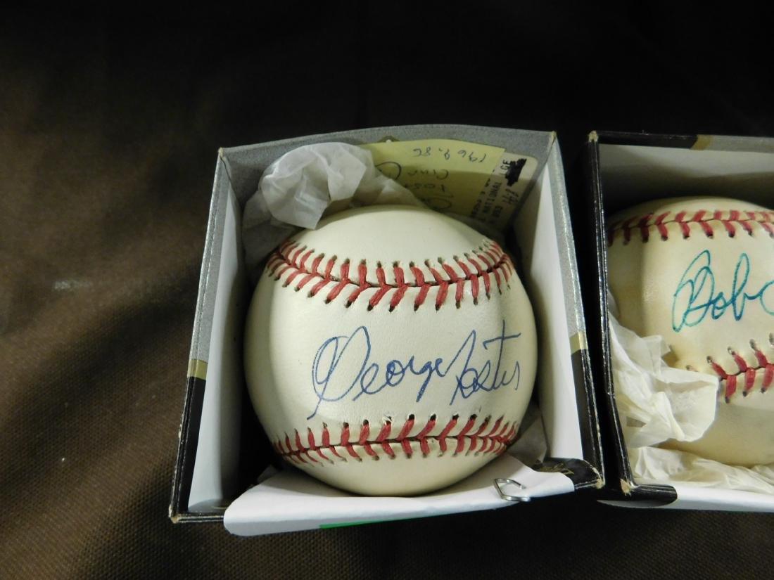 2 Autographed Baseball Ohio Team Ballplayers - 2