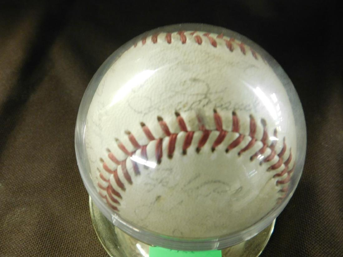 Autographed Baseball-1960's Phillies - 3