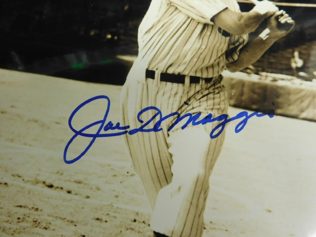 Joe DiMaggio Signed Photo - 3