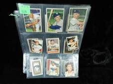 Lot Vintage Baseball Stamps  Other Small Cards