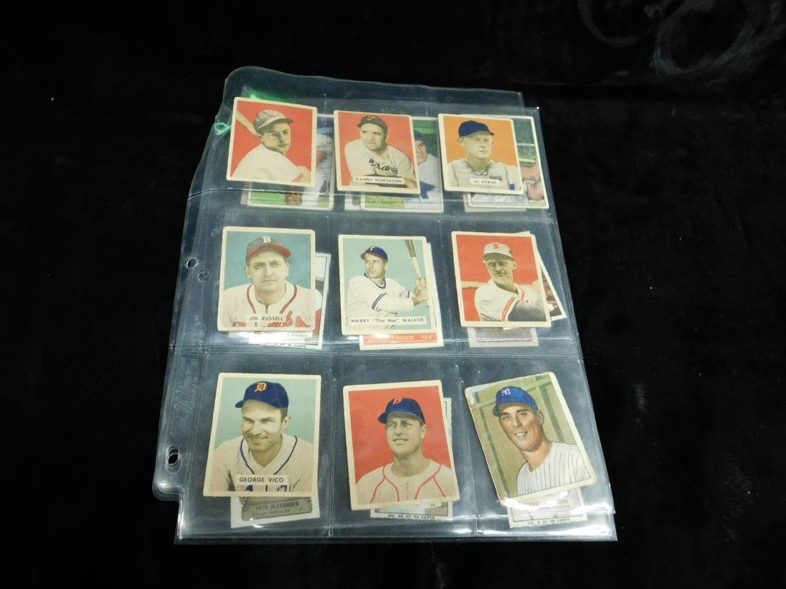 Lot: Vintage Baseball Stamps & Other Small Cards - 2