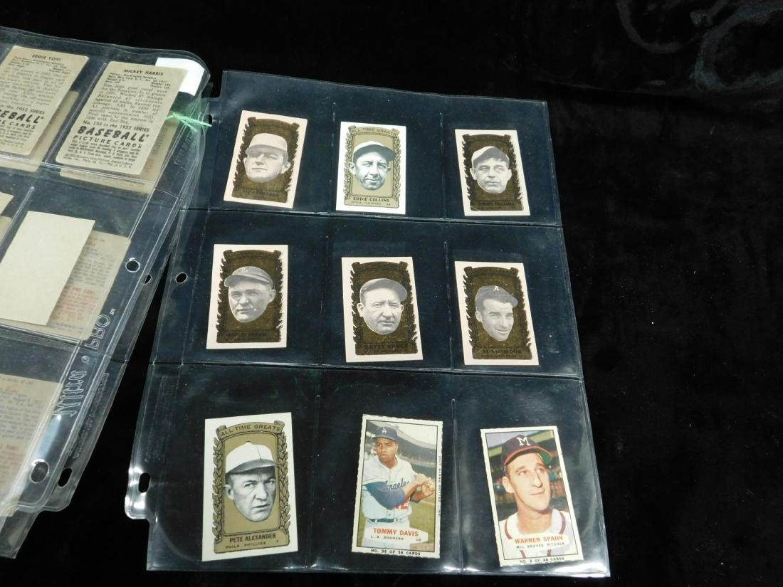 Lot: Vintage Baseball Stamps & Other Small Cards - 3