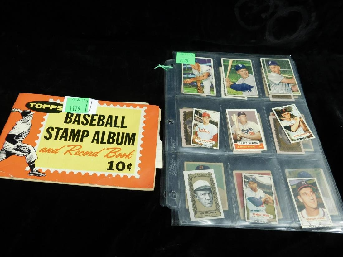 Lot: Vintage Baseball Stamps & Other Small Cards - 4
