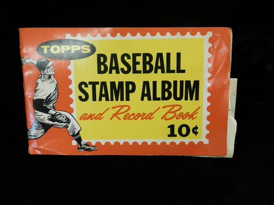 Lot: Vintage Baseball Stamps & Other Small Cards - 5