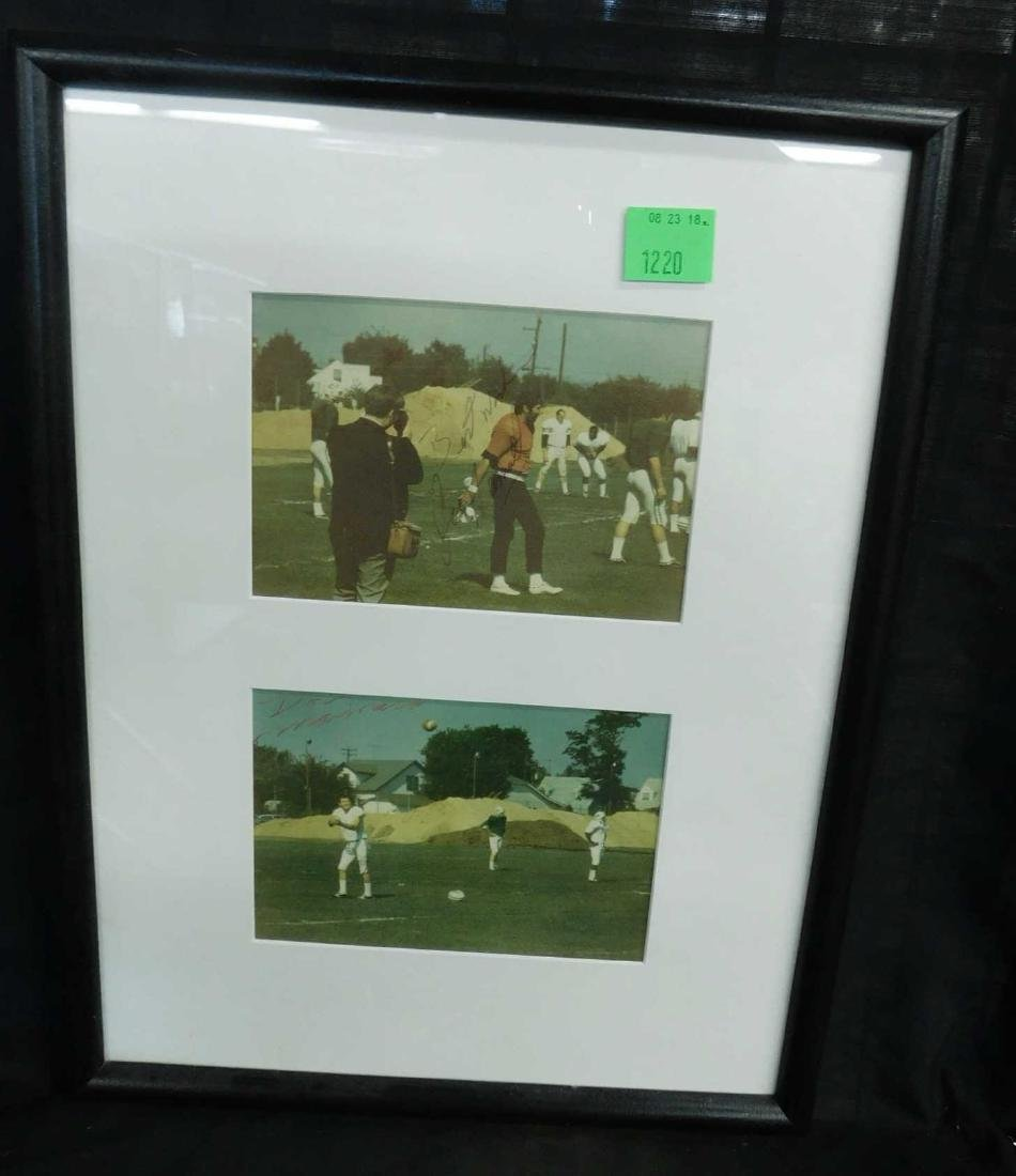 Framed Jets Photos & Prints, 2 Signed - 2