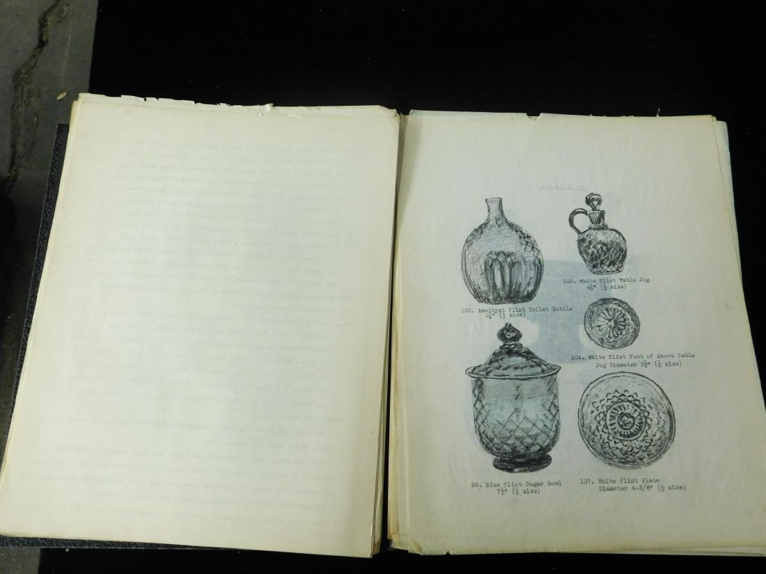 Frederick William Hunter Stiegel Glass Typescript - 2