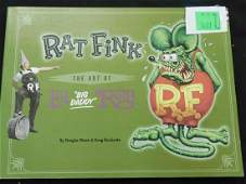Soft Cover Art Book  Rat Fink