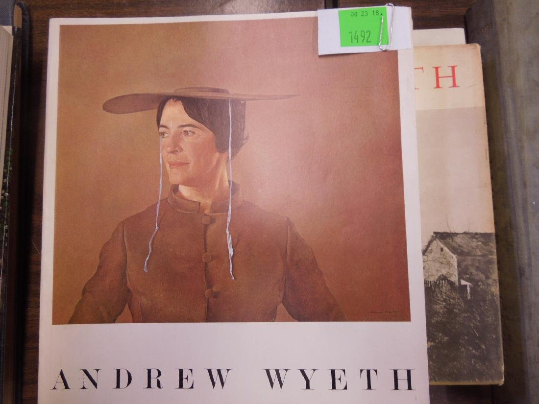 4 Art Books on Andrew Wyeth & the Wyeth Family