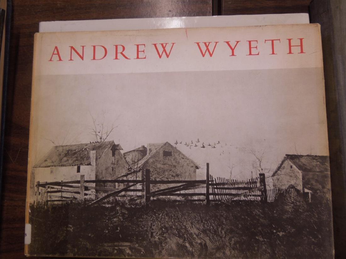 4 Art Books on Andrew Wyeth & the Wyeth Family - 2