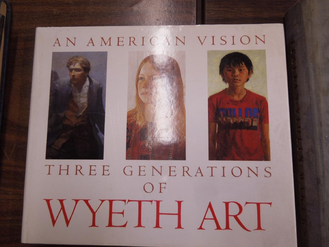 4 Art Books on Andrew Wyeth & the Wyeth Family - 3