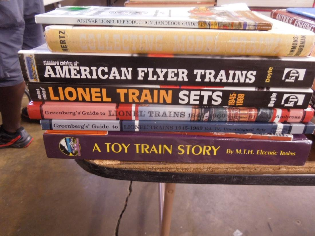 Eight Books on Model Trains