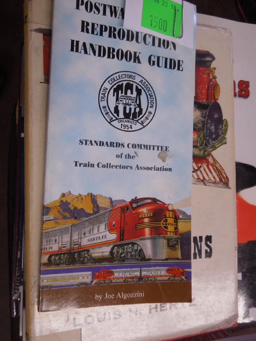 Eight Books on Model Trains - 2