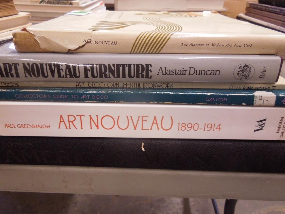 Books on Art Nouveau & Deco Design & Collectibles