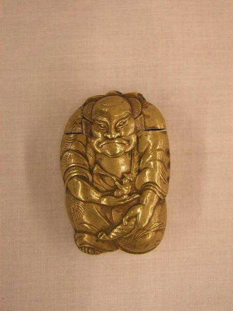 3019: 19th C. Oriental match safe