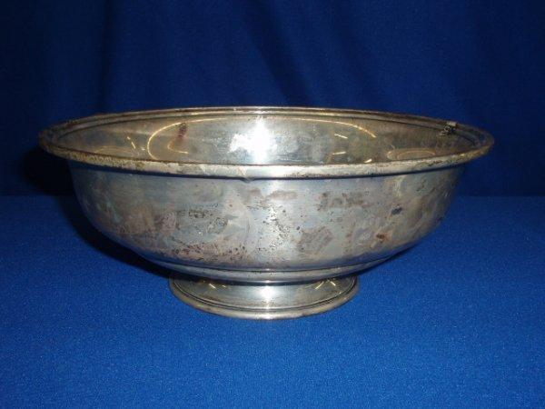 4001: Sterling bowl