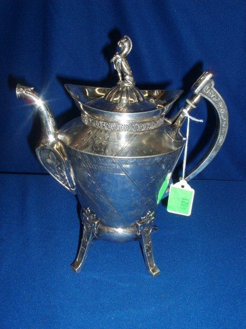 4021: Reed & Barton teapot