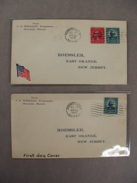 5002: A.C. Roessler first day covers