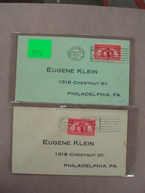 5012: Eugene Klein first day covers