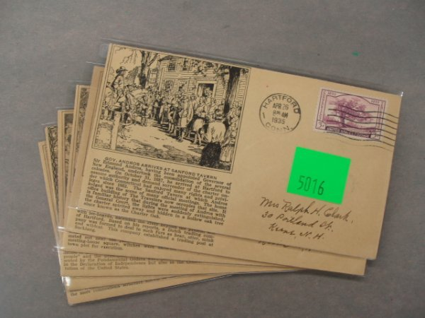 5016: Vaux Wilson first day covers