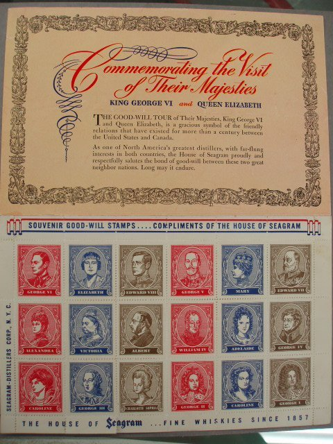 5022: 1937 Coronation stamp sets