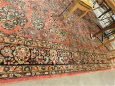 Semi Antique Sarouk Room Carpet