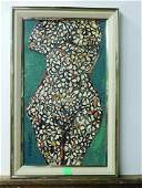 SL Corson Signed Nude Painting