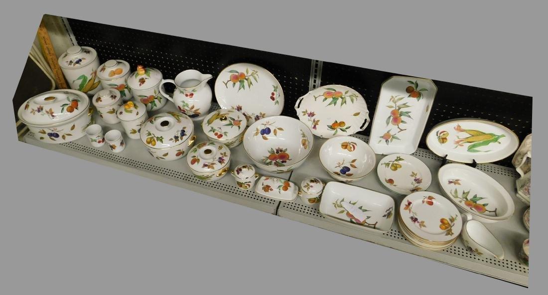 33 Pieces Royal Worcester Porcelain