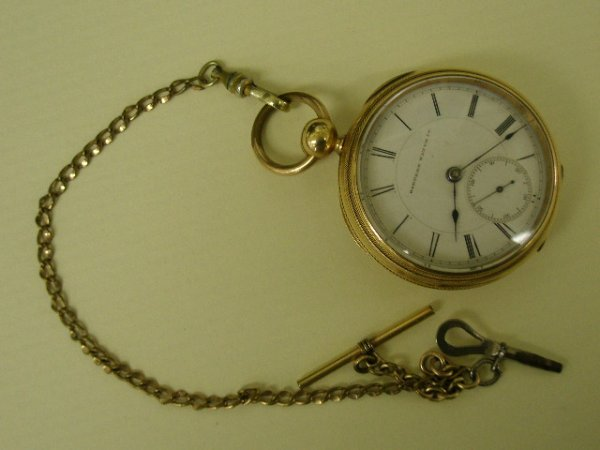 1093: Hampden Watch Co. gold filled pocketwatch