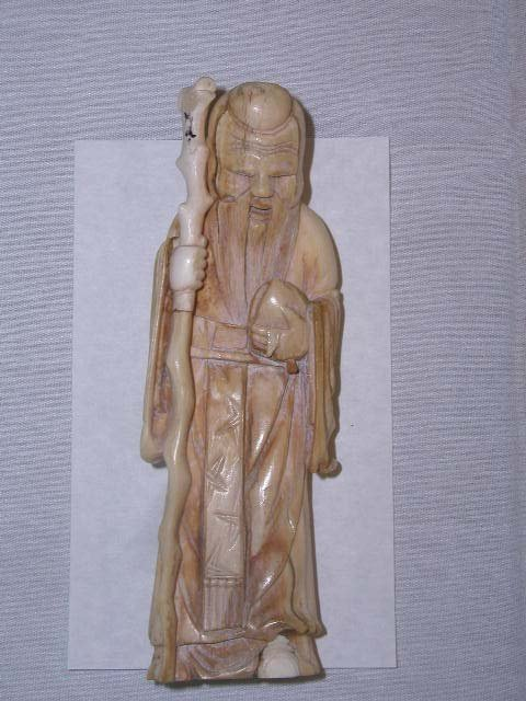 2010: Ivory Chinese nobleman figure