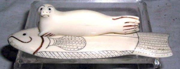 2015: Alaskan ivory carving