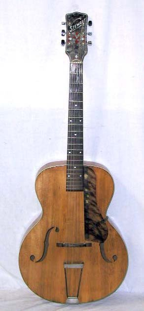 2154: 1940's S.S. Stewart acoustic guitar