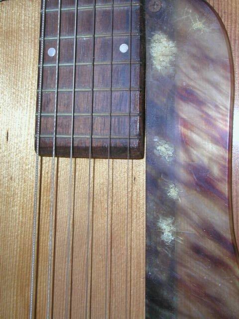 2154: 1940's S.S. Stewart acoustic guitar - 5