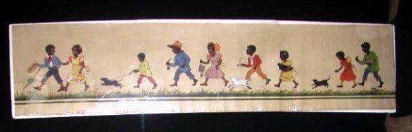 2196: C. 1930's Afro-American theme illustration art