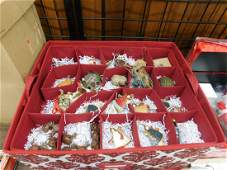 Large Lot Contemporary Christmas Ornaments