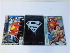 Death of Superman Comic Book Lot