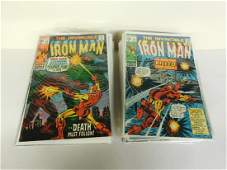 73 Bronze Age Marvel Comics Iron Man