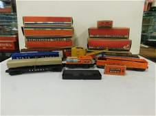 7 Lionel Train Cars w/Original Boxes