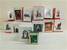 Lot Star Trek Hallmark Christmas Ornaments