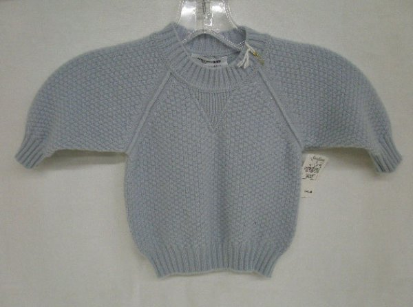 1001A: Cashmere infant's sweater