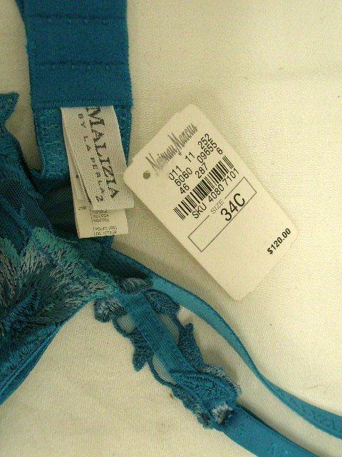 1004: Malizia by La Perla brassiere (made in Italy) - 2