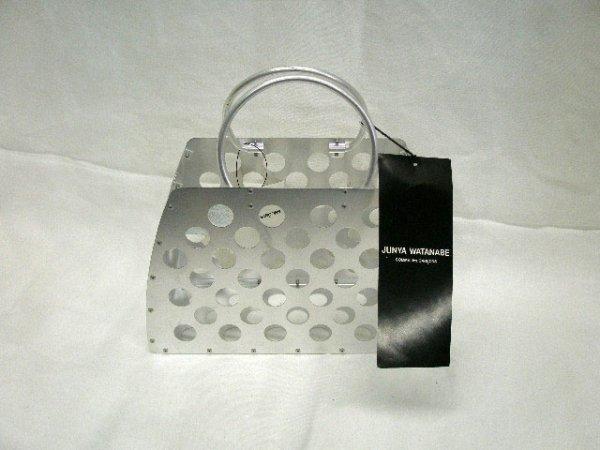 1017: Junya Watanabe Comme des Garcons metal handbag