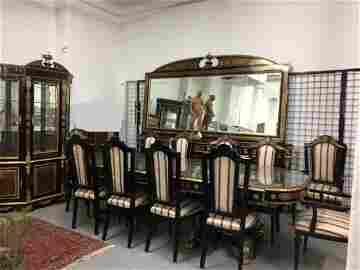 16 Pc Napoleon III Style Dining Room Set