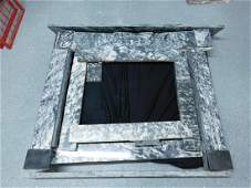 King of Prussia Marble Fireplace Mantel